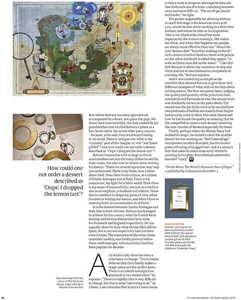 Financial Times Magazine 29-30/10/2016