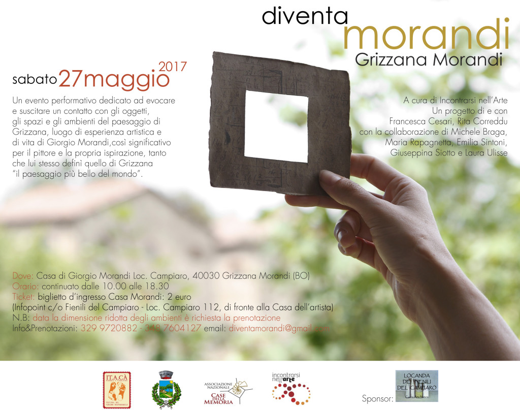 Diventa Morandi Grizzana mail postcard